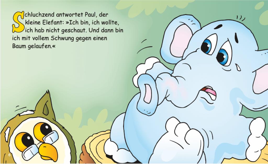 Minibuch Paul beim Arzt