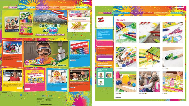 Website für Familien
